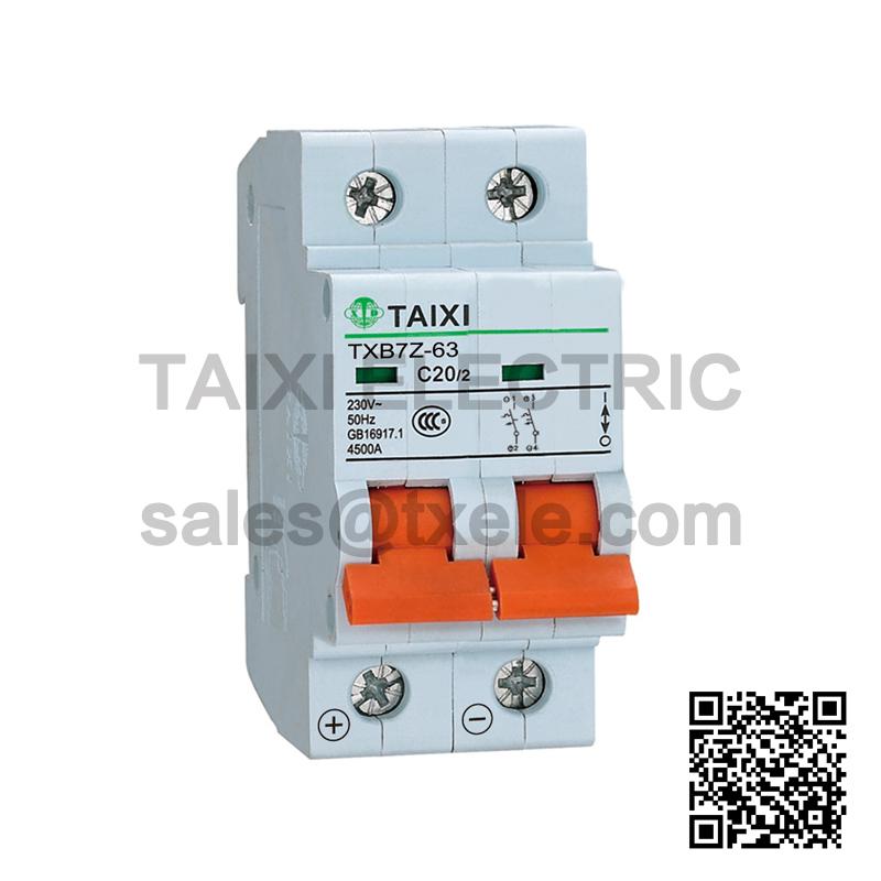 Function of DC circuit breaker-TAIXI Electric