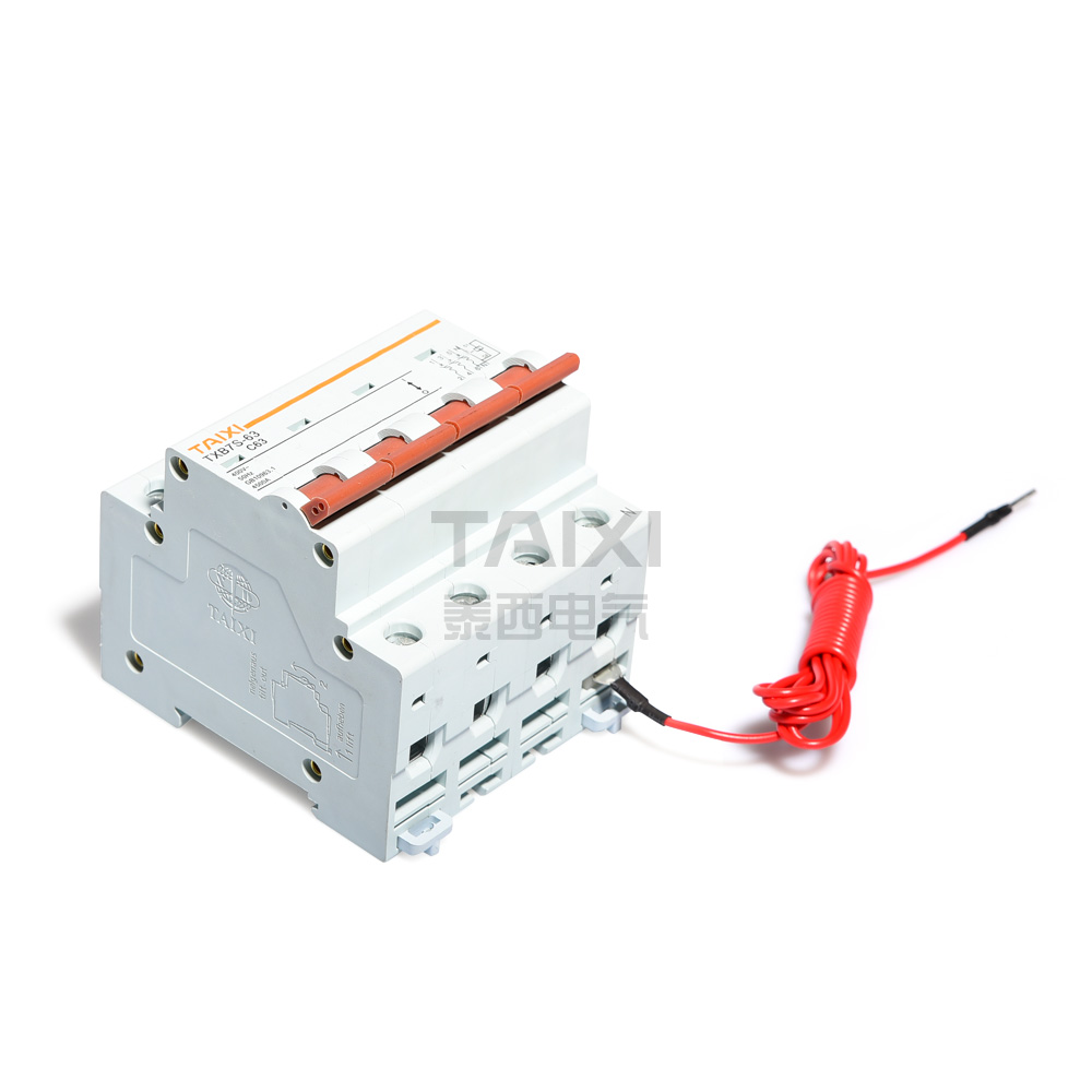 Ac Shunt Trip Circuit Breaker Taixi Electric 20a 400v Onoff Mcb With Cover Buy Txb7s 63 Controllable Mcbs