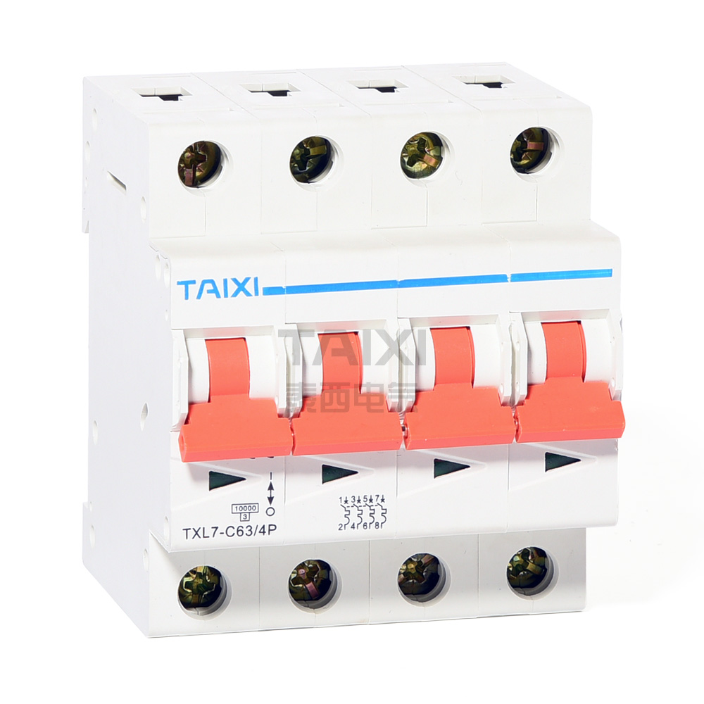 10ka Circuit Breaker 10ka 63 Amp Mcb Taixi Electric