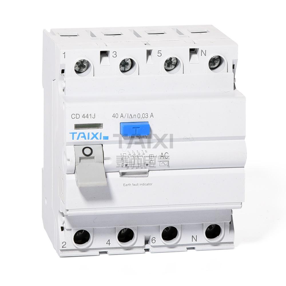 Rccb Circuit Breaker 30ma Rcbo Taixi Electric Id Mccb Mini