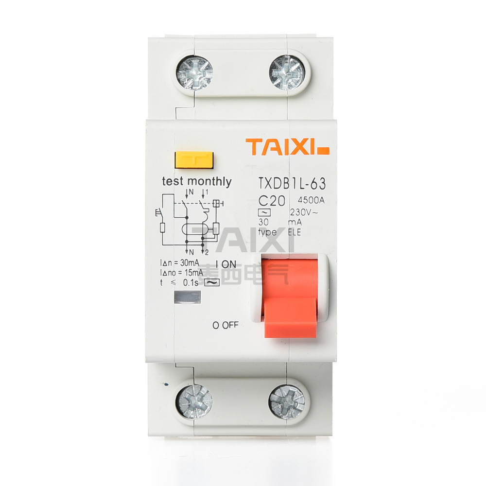 Earth Leakage Switch Electric Circuit Breaker Taixi Electronic Integrated Controlcircuit