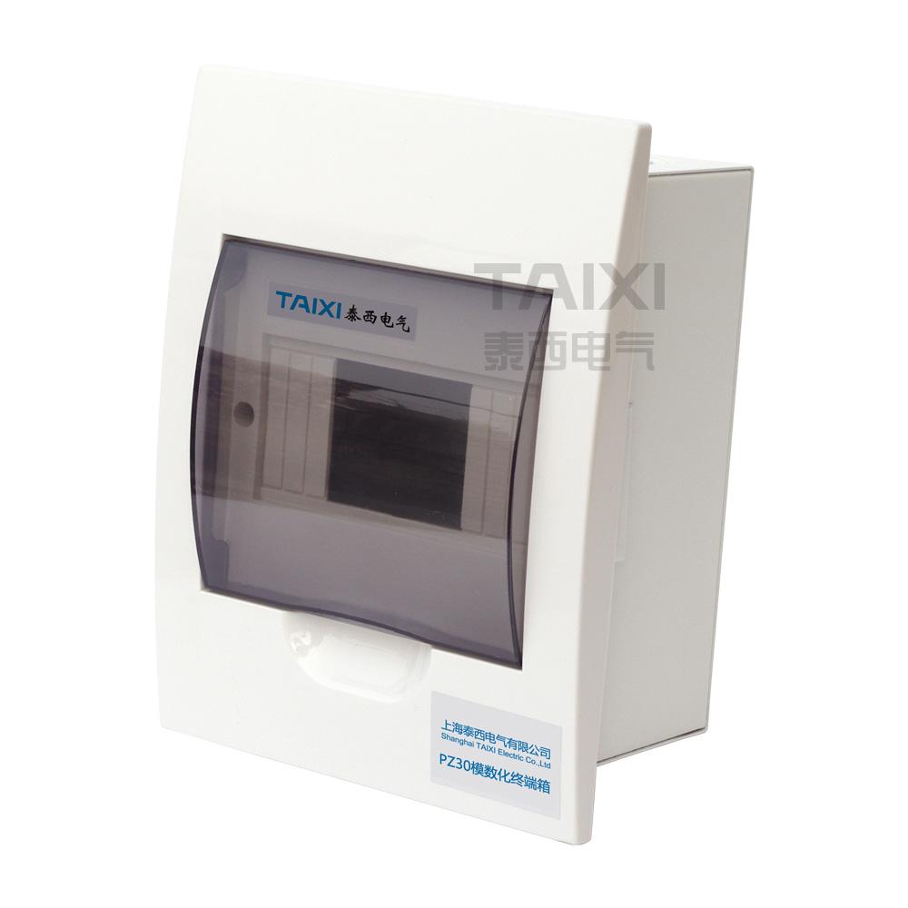 Plastic Electrical Distribution Box Mcb Taixi Panel Mount 18 Ways Electric Circuit Breaker