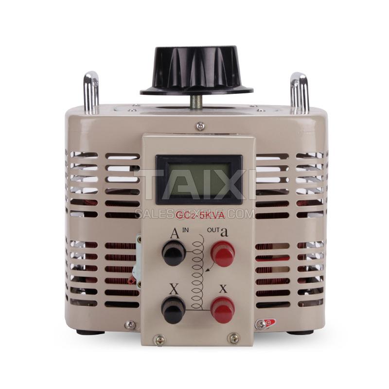 Single Phase Contact Voltage Regulator AC