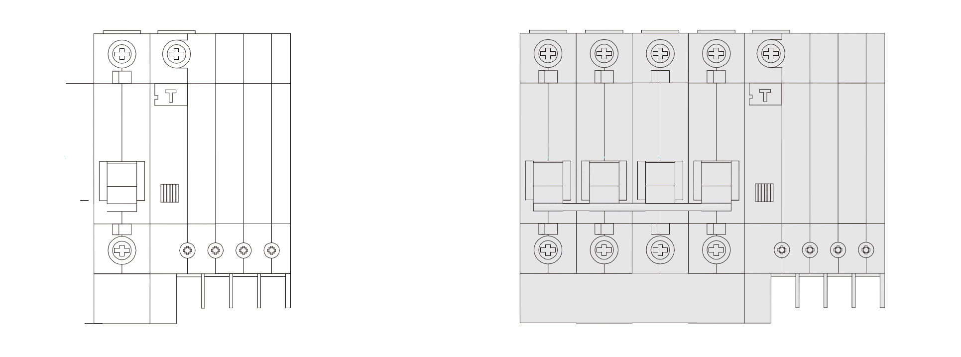 Wiring diagram. Keywords: DZ47LE-32, ELCB breaker