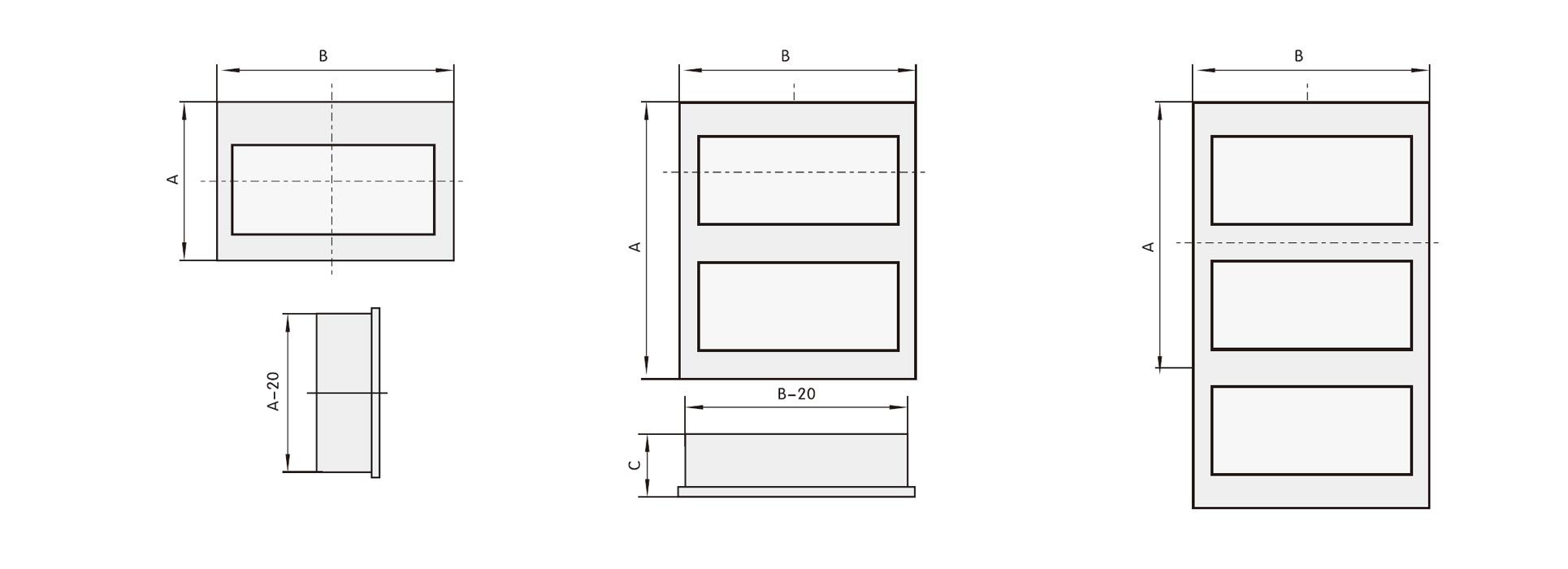 Plastic Electrical Distribution Box | MCB Distribution Box