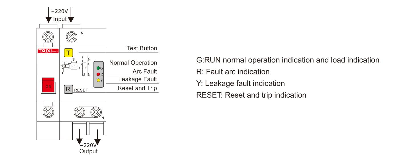 Afci Circuit Breaker Arc Fault Detection Protection